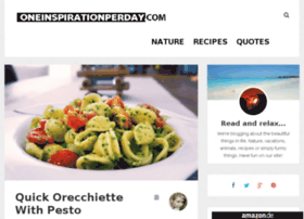 oneinspirationperday.com