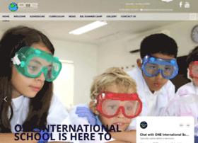 oneinternationalschool.com