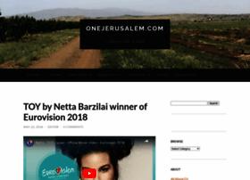 onejerusalem.com