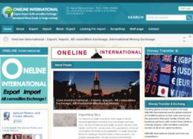 onelineinternational.com