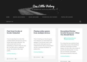 onelittlevictoryblog.com