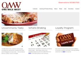 onemilewest.com