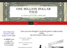 onemilliondollarpage.com