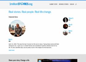 onemillionstories.org