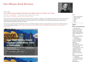 oneminutebookreviews.wordpress.com