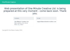 oneminutecreative.com