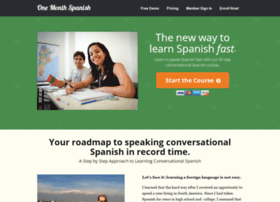 onemonthspanish.com