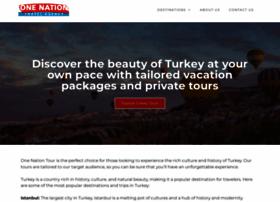 onenationtour.com