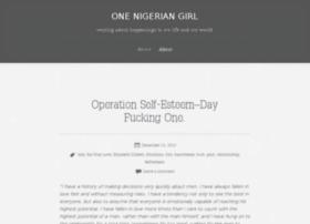 onenigeriangirl.wordpress.com