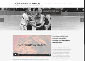 onenightinmarch.com