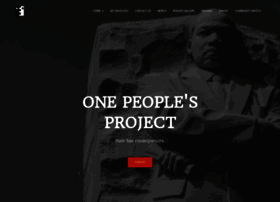 onepeoplesproject.com