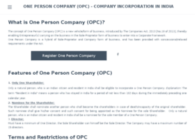 onepersoncompany.in