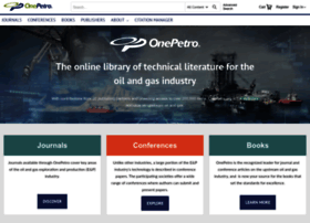 onepetro.org