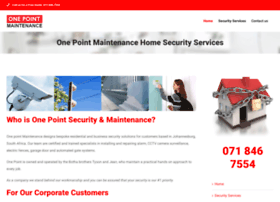 onepointmaintenance.co.za