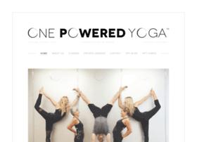 onepoweredyoga.com