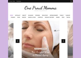 oneproudmomma.com