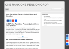 onerankonepensionorop.in
