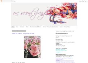 onesecondspring.blogspot.com.au