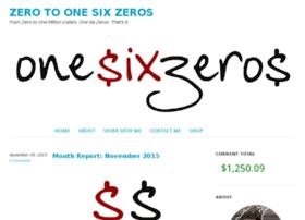 onesixzeros.com