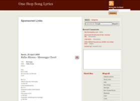 onestop-lyrics.blogspot.com