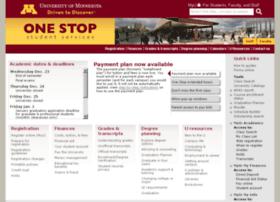 onestop-test.umn.edu