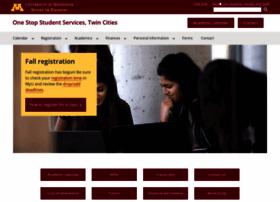 onestop.umn.edu