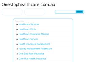 onestophealthcare.com.au