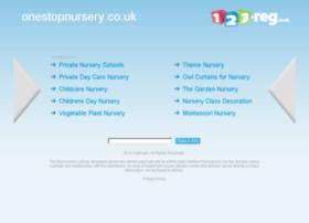 onestopnursery.co.uk