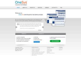 onesysins.com