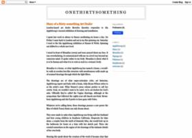 onethirtysomething.blogspot.com