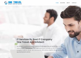 onetravelandinfotech.com
