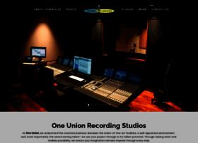 oneunionrecording.com