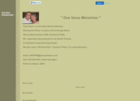 onevoice.faithweb.com