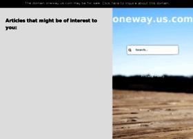 oneway.us.com