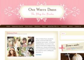 onewhitedress.net