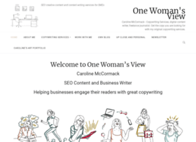 onewomansview.co.uk