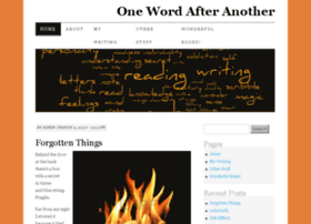 onewordaftertheother.net