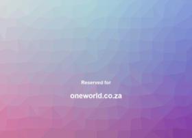 oneworld.co.za