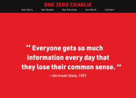 onezerocharlie.com