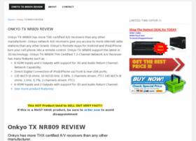 onkyotxnr809review.blogspot.com