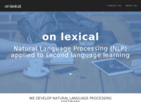onlexical.com
