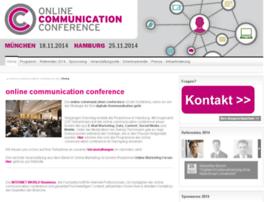 online-communication-conference.de