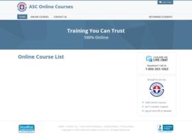 online-courses.amersc.com
