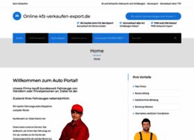 online-kfz-verkaufen-export.de