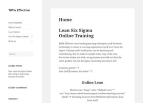 online-leansixsigma.com