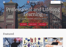 online-learning.harvard.edu
