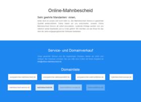online-mahnbescheid.de