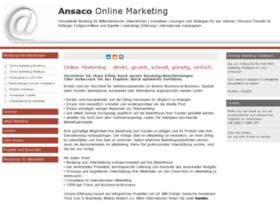 online-marketing-beratung-ansaco.de