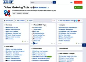 online-marketing-tools.zeef.com