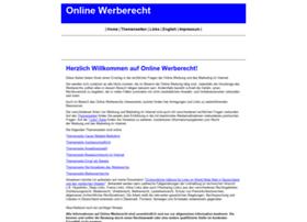 online-werberecht.de